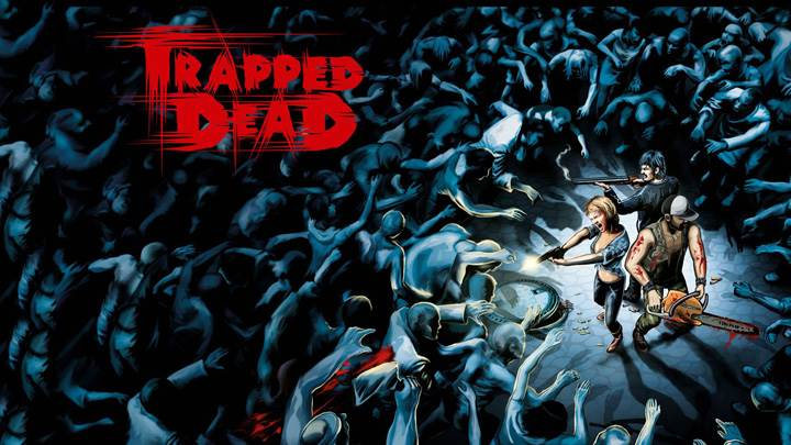 Surrounded By Lots Of Zombies – Trapped Dead