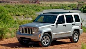 2008 Jeep Liberty Limited In Silver Side Pose