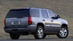 2009 GMC Yukon XFE Back Side Pose In Grey