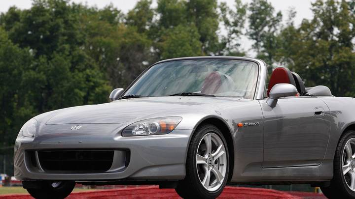 2009 Honda S2000 Front Side Pose In Grey