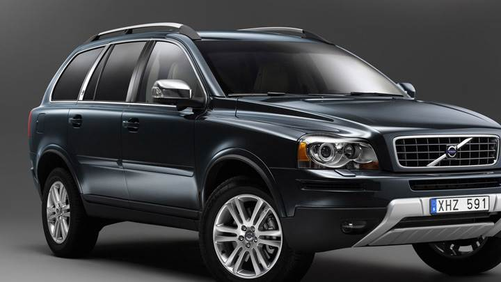 2009 Volvo XC90 In Black N Grey Background