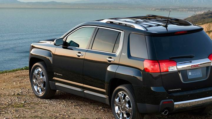 2010 GMC Terrain SLT Near Sea Side In Black