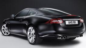 2010 Jaguar XKR Back Pose In Black