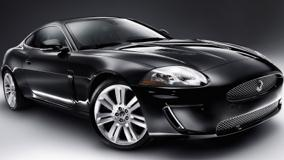 2010 Jaguar XKR Front Side Pose In Black