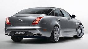 2010 STARTECH Jaguar XJ In Grey Back Pose