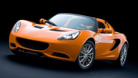 2011 Lotus Elise Side Front Pose In Orange