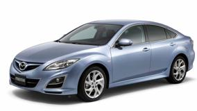 2011 Mazda6 Facelift In Blue Side Front Pose