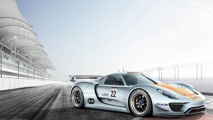 2011 Porsche 918 Rsr In Race Course