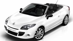 2011 Renault Megane CoupeFront Pose In White