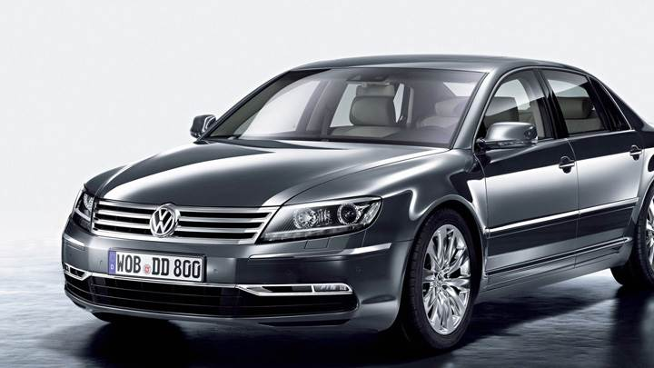 2011 Volkswagen Phaeton In Grey Front Side Pose