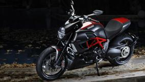2012 Ducati Diavel Near River Side