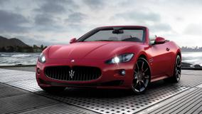 2012 Maserati Grancabrio Sport In Red Color
