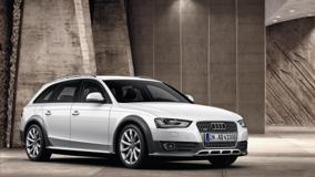 2013 Audi A4 Allroad Quattro Front Side In White