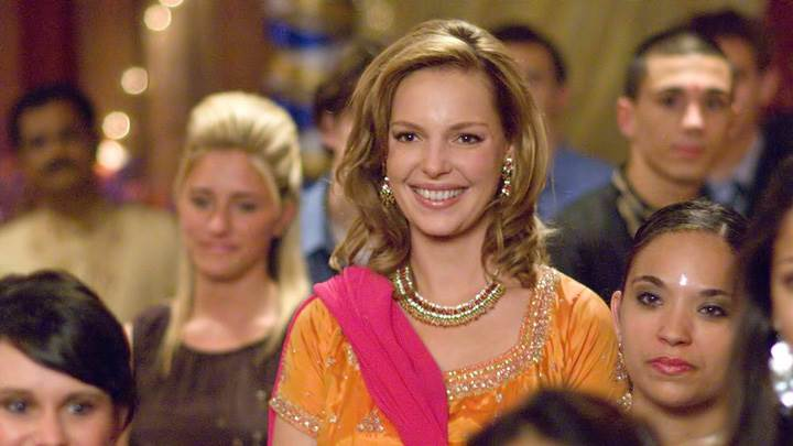 27 Dresses – Katherine Heigl Smiling In Yellow Dress