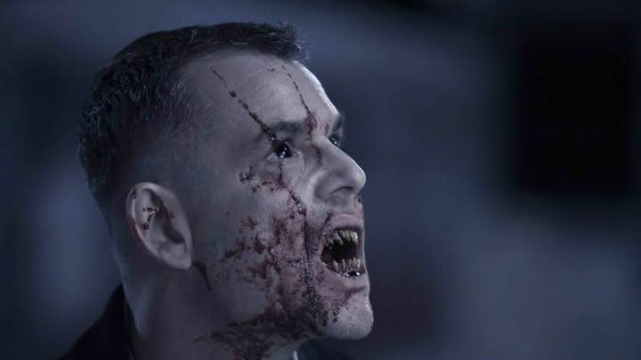 30 Days Of Night – Danny Huston Screaming Side Face Closeup