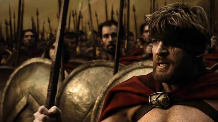 300 – Gerard Butler And Vincent Regan