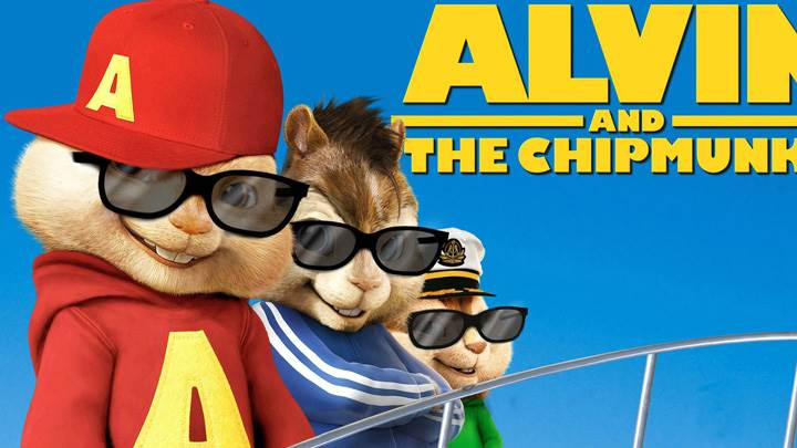 Alvin And The Chipmunks Chipwrecked Wearing Black Goggles