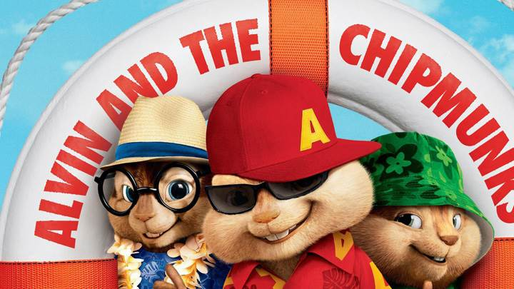 Alvin And The Chipmunks Face Closeup