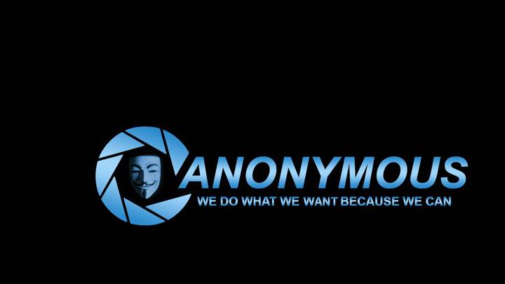 Anonymous We Do What We Want Because We Can
