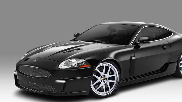 Arden Jaguar XKR AJ20 Wild Cat 2010 In Black Side Pose