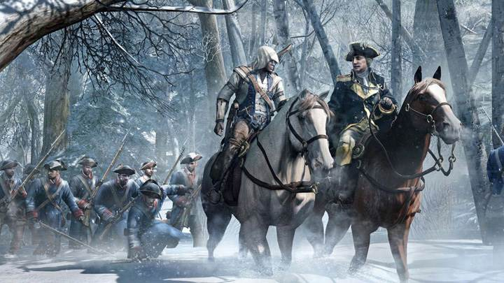 Assassins Creed 3 – Riding On A Horse