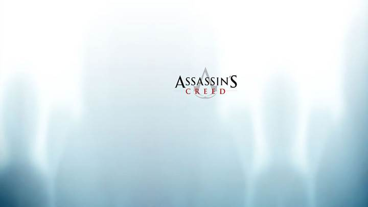 Assassins Creed Logo In Aqua Background