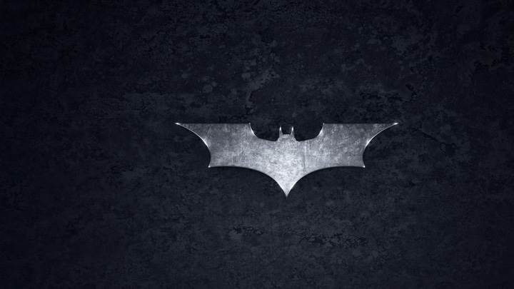 Batman Logo On Black Background