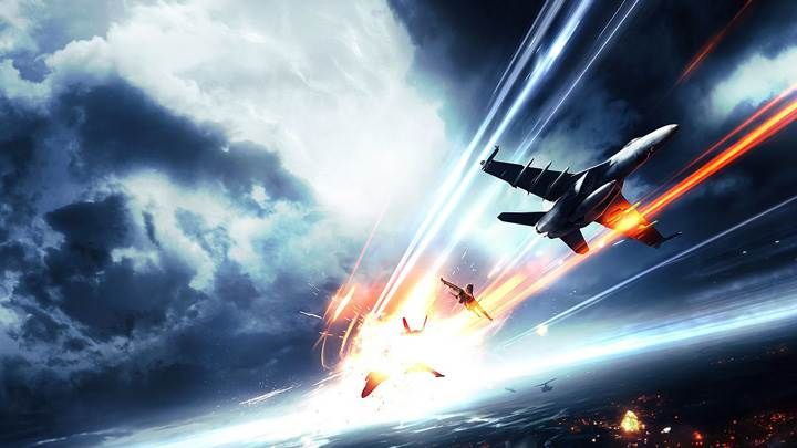 Battlefield 3 Jet On Fire