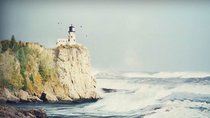 Beautiful Lighthouse Scenery