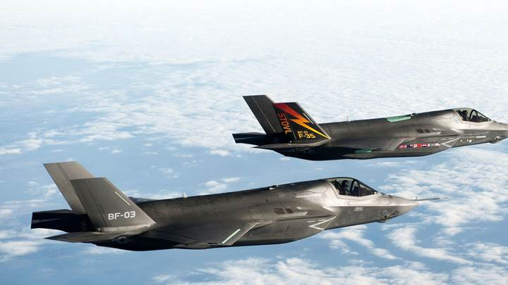 Bf 1 F 35 Fighters Jets