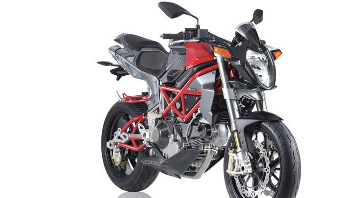 Bimota DB6 Delirio In Red N Grey Front Pose