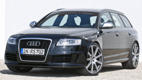 Black Color Mtm Audi Rs6 R Hr Front Side
