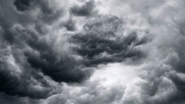 Black N White Storm Closeup