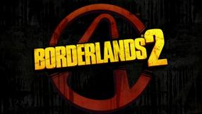 Borderlands 2 Logo On Black Background