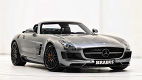 Brabus Mercedes-Benz SLS AMG Roadster In Shine Silver