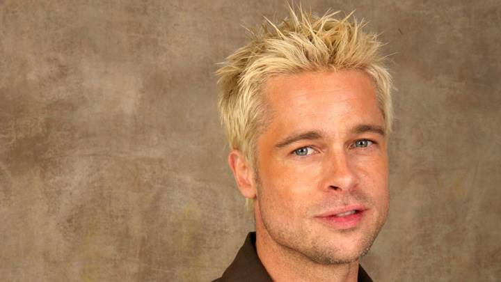 Brad Pitt Smiling Smart Face Closeup