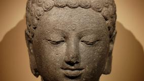Budha Face Closeup