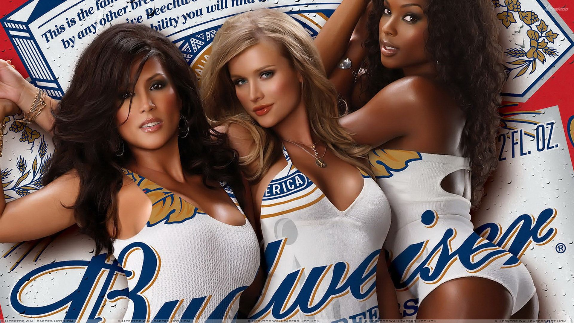 Budweiser Girls Photoshoot