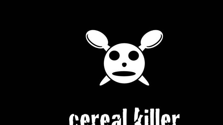 Cereal Killer Black Background