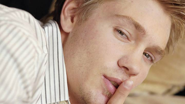 Chad Michael Murray Saying Shh Face Closeup