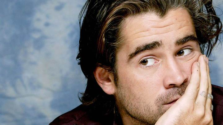 Colin Farrell Looking At Someone