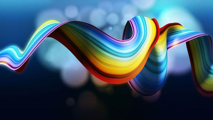 Cool Rainbow Abstract