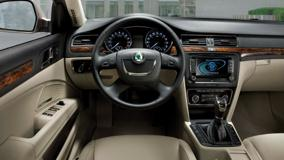 Dashboard Of Skoda Superb Combi