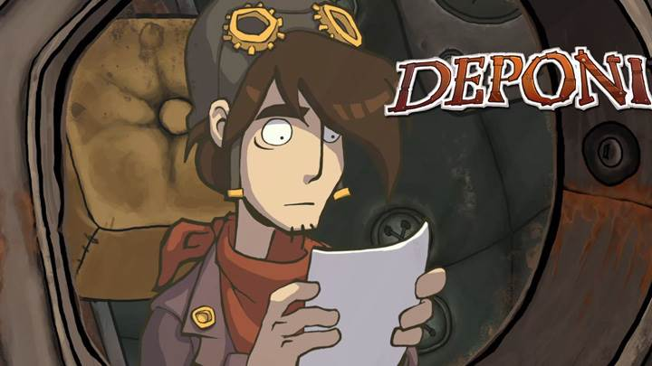 Deponia – Reading The Note