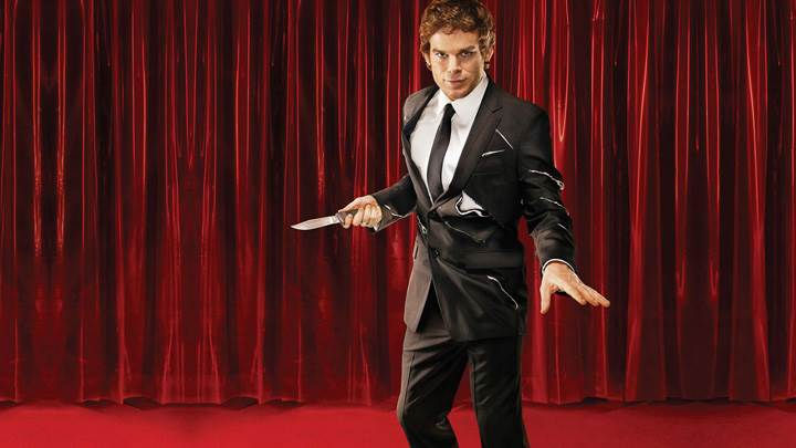 Dexter With A Knife on Stage