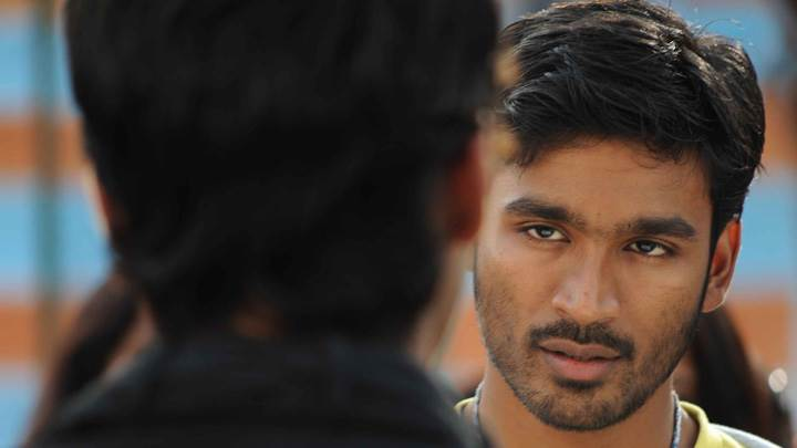 Dhanush Front Face Closeup In Kutty Movie