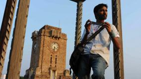Dhanush Instrument In Hand Photoshoot In Kutty Movie