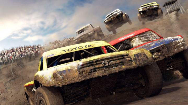 Dirt Colin Mcrae Off-Road – Yellow Wtoyota
