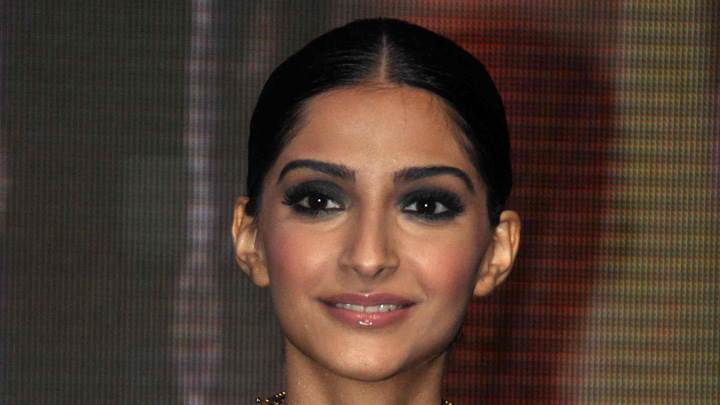 Face Closeup Of Sonam Kapoor At Kingfisher Calendar Female Model Hunt