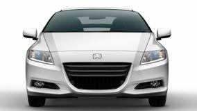 Front Pose Of 2011 Honda CR-Z Sport Hybrid Coupe In White